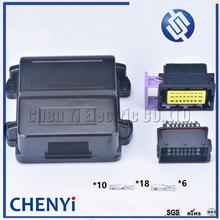 Aluminum-Box Connector Terminals 24pin Male Female for with And 211PC249S0005 Ecu-Generator-Controller