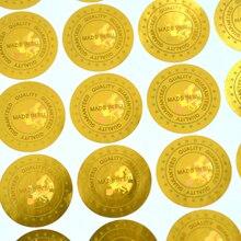 19mm de diâmetro 2000 pçs/lote inviolável etiqueta do Holograma holográfico etiquetas MADE IN EUROPA Qualidade Garantida em prata