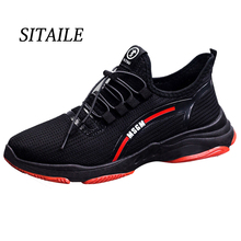 SITAILE Lightweight Comfortable Men Casual Shoes Breathable Couple