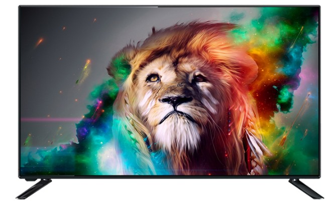 55 Inch Full HD 1920*1080 Lcd Monitor Screen Display Plus Global Version Multi Languages TV WIFI Smart T2 Led Television TV