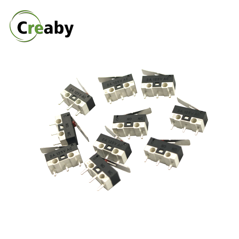 1A 2A 125V Ultra Mini Lever Actuator Mouse Switch SPDT Sub Miniature Micro Switch Limit Switch Push Button Switch(China)