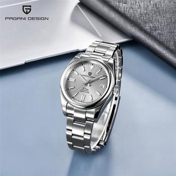 2021 PAGANI Design nowy męski automatyczny zegarek mechaniczny Sapphire luksusowy męski zegarek NH35A biznes wodoodporny zegar Reloj Hombre tanie i dobre opinie 20Bar CN (pochodzenie) Składane bezpieczne zapięcie SPORT Do nurkowania Mechaniczna nakręcana wskazówka Samoczynny naciąg