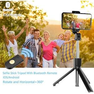 Image 5 - Mobile Phone Monopod Tripod Stand For Xiaomi Mi Redmi Note Huawei Honor iPhone 12 Mini 11 Samsung Smartphone Selfie Stick Holder