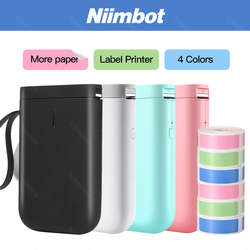 Niimbot D11 Portable Label Printer Mini Bluetooth Thermal Sticker Price Tag Printer Birthday christmas present gift