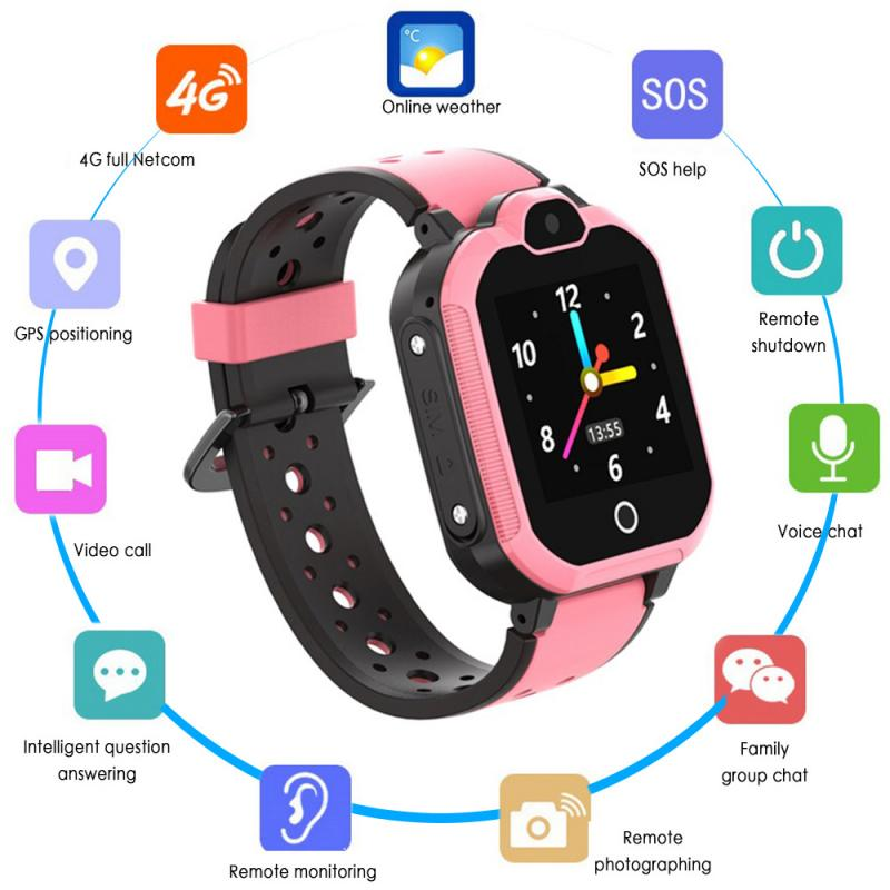LT5 Kinder <font><b>Smart</b></font> Uhr Android 6.0 Video SOS Call Safe Wasserdicht Bluetooth Anti-Verloren Kinder 4G Smartwatch £ WIFI GPS Tracker image