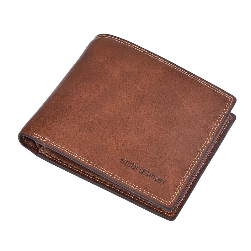 Men's Short Wallet Retro Multi-function Driver's License Bag Fashion Casual Multi-card Wallet Tide Men's Wallet
