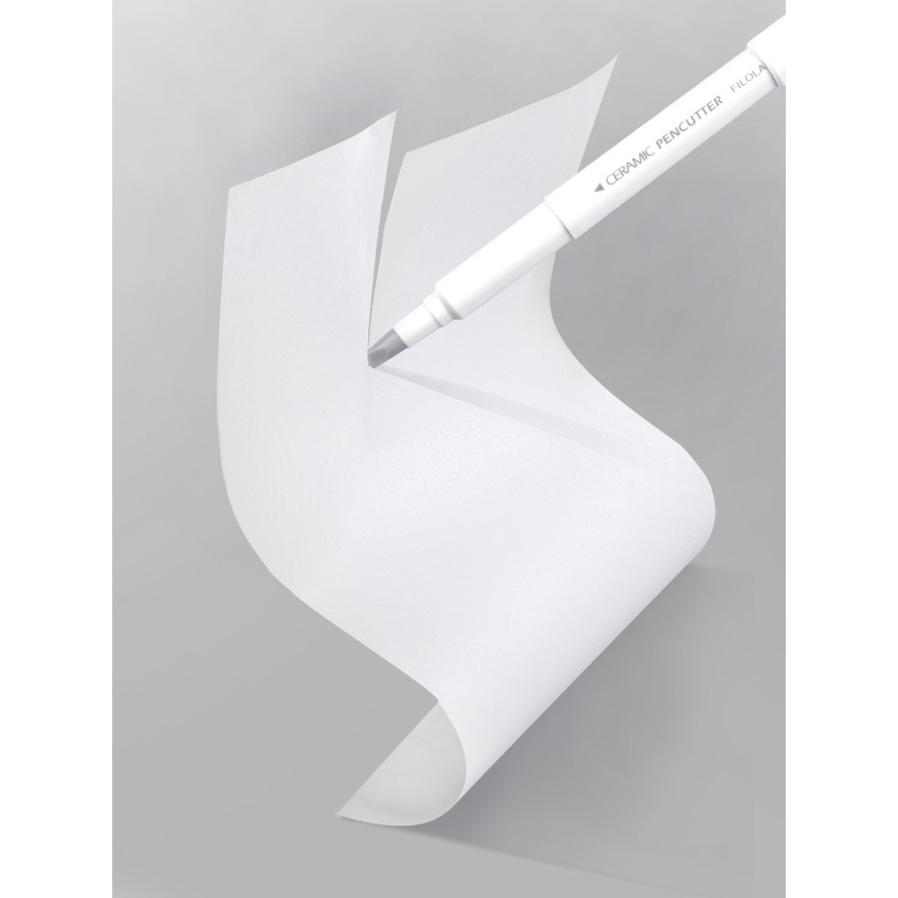 13cm Paper Pen Knife Wear-Resisting Newspaper Hand Book Paper Cutter Tape Ceramic Blade Cutting Knives Plastic Utility Knife