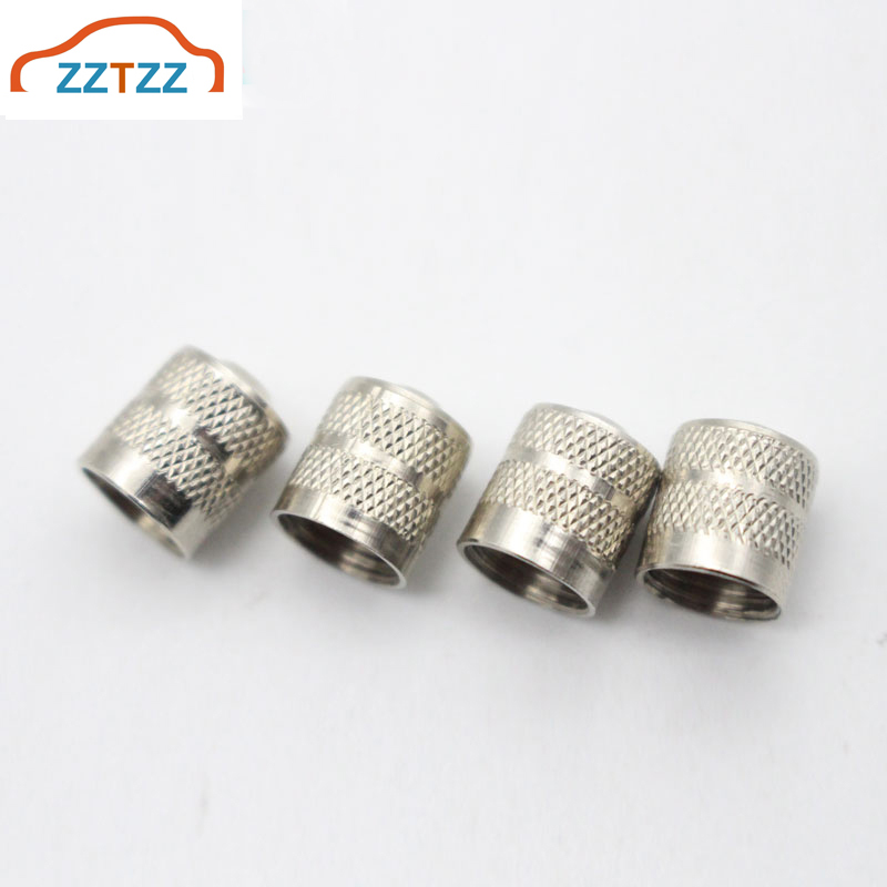 12Pcs/Lot Copper Slotted Head Valve Stem Caps Auto Tire Valve Dustproof Cover For Car Motorcycle Schrader Accessory