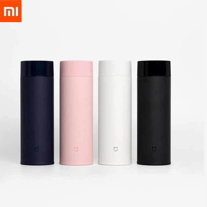 Original Xiaomi Mijia 350ml Stainless Steel Thermos Cup 190g Lightweight Vacuum Bottle Camping Travel Portable Insulated Cup
