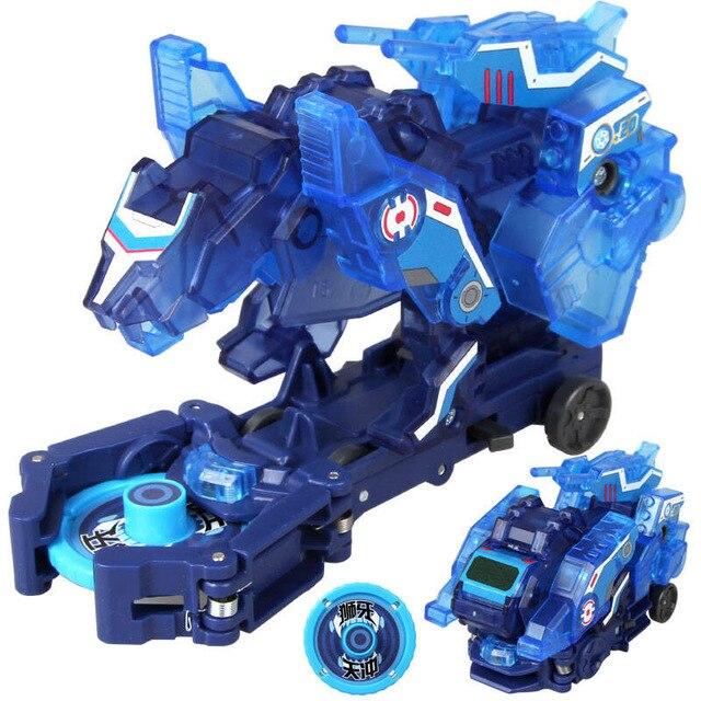 Screechers explosão selvagem velocidade fly deformação figuras de ação do carro captura bolacha 360 flips transformação carro brinquedos para crianças presente 07