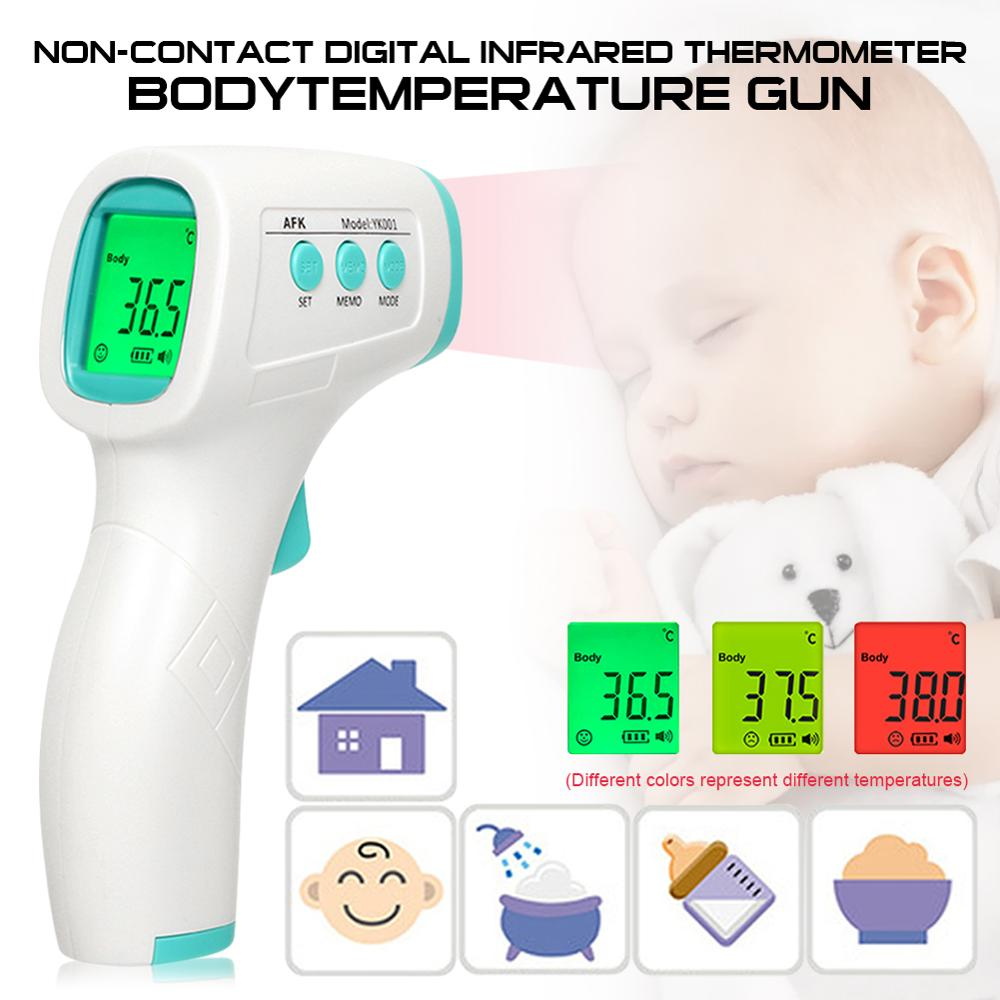 Baby Lcd-Body-Measurement Forehead Fever Digital Electronic Ear-Non-Contact Infrared Children Adult Fast-Accurate Household