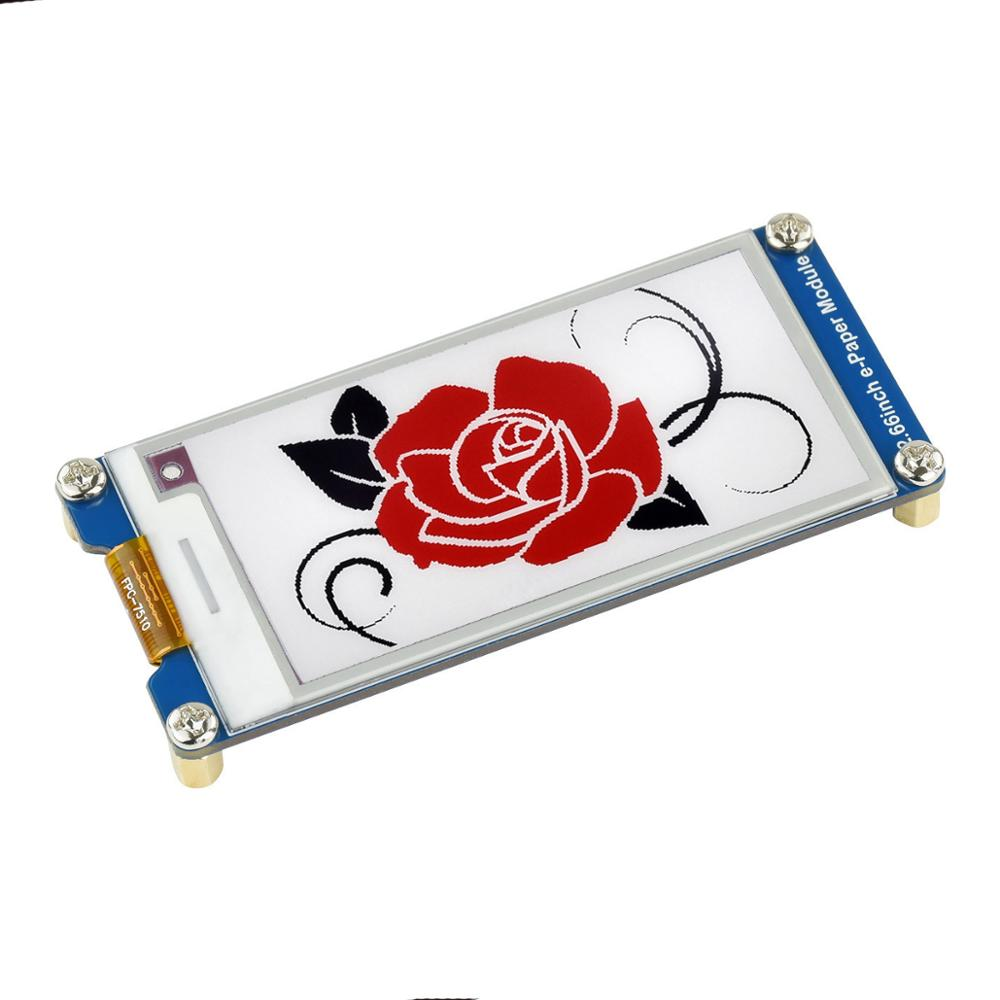 2,66 дюймов SPI Интерфейс красный 3-Цвет E-ink E-Paper E Бумага E-ink Бумага Экран дисплея модуль для Raspberry Pi Zero W 3 4 для Arduino STM32