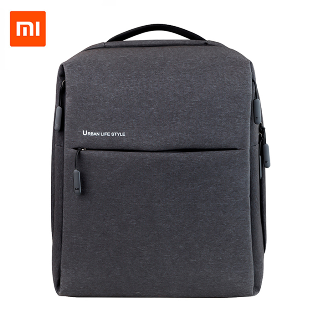 Original Xiaomi Mi Backpack Urban Life Style Shoulders <font><b>Bag</b></font> Rucksack Daypack School <font><b>Bag</b></font> Duffel <font><b>Bag</b></font> Fits 14 <font><b>inch</b></font> <font><b>Laptop</b></font> portable image