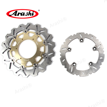 Arashi 1 Set 300 / 265 mm For BMW F650GS ABS 2008-2011 CNC Front Rear Brake Discs Rotors F 650 GS -ABS 2008 2009 2010 2011