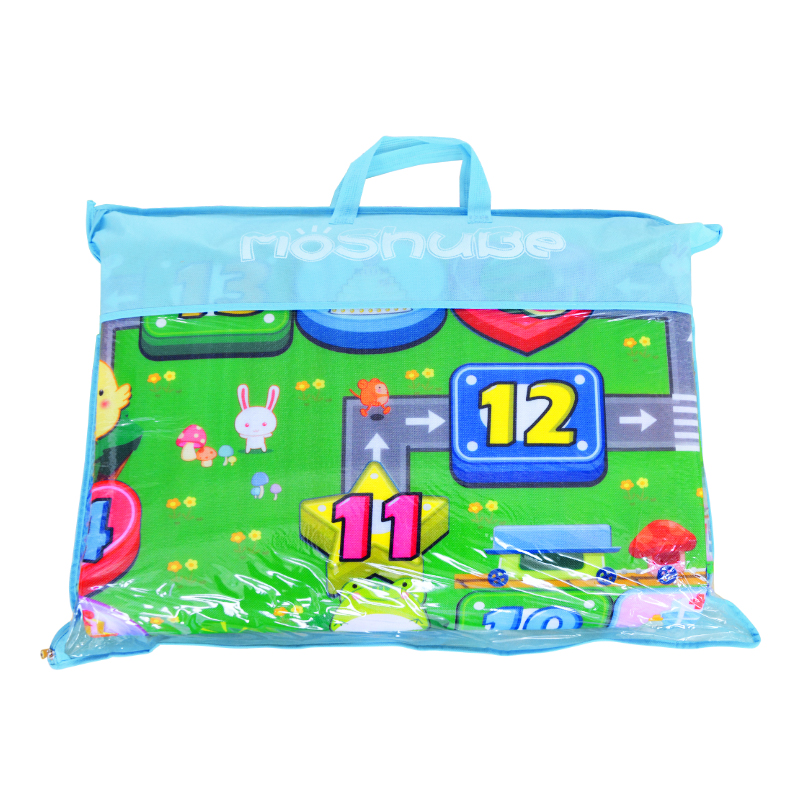 Hb41d1dba112d4cb5b3f376c0c8f031a6k 0.5cm Thickness Children's Rug Baby Playing Mats Soft EVA Foam Double Side Patterns Child Carpets For Kids Crawling Gym Mats