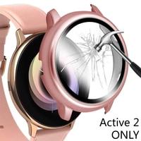 Gehärtetem Glas Screen Protector Für Samsung Galaxy Uhr Aktive 2 40mm 44mm 40 44mm Schutz Film Schutz screenprotector