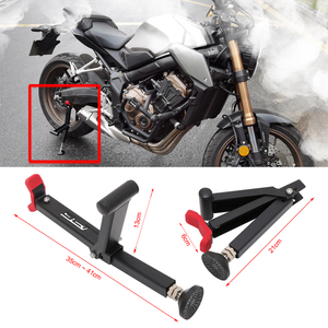 Image 5 - Easy To Carry Hand Support Motorcycle Single Sided Paddock Stand Wheel Support Stand Wheel Support Frame Tire Repairing Tool 027