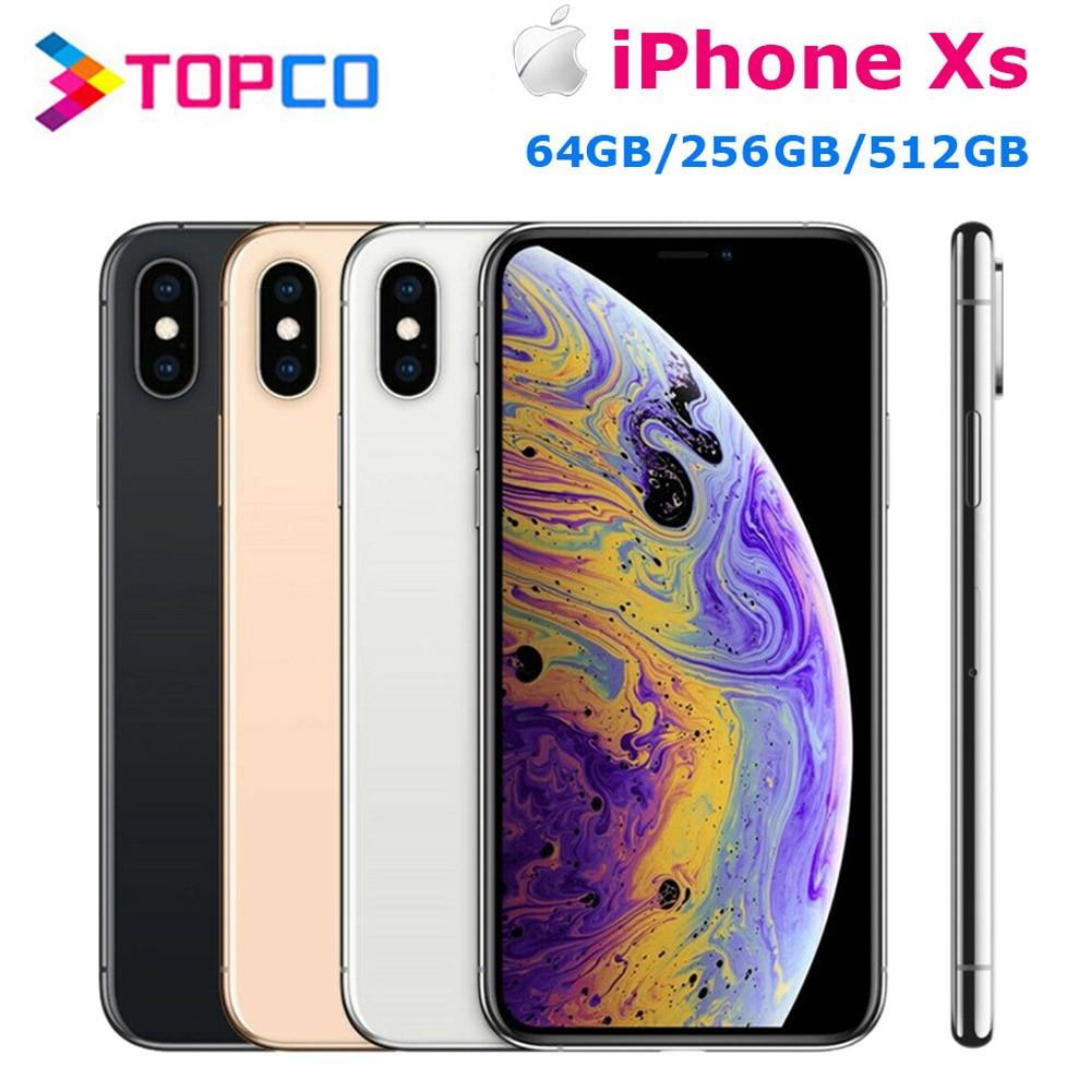 "Apple iPhone Xs 5.8"" RAM 4GB ROM 64GB/256GB/512GB Original Mobile Phone LTE Hexa Core Dual 12MP iOS12 Face ID NFC A12 Bionic|Cellphones| - AliExpress"