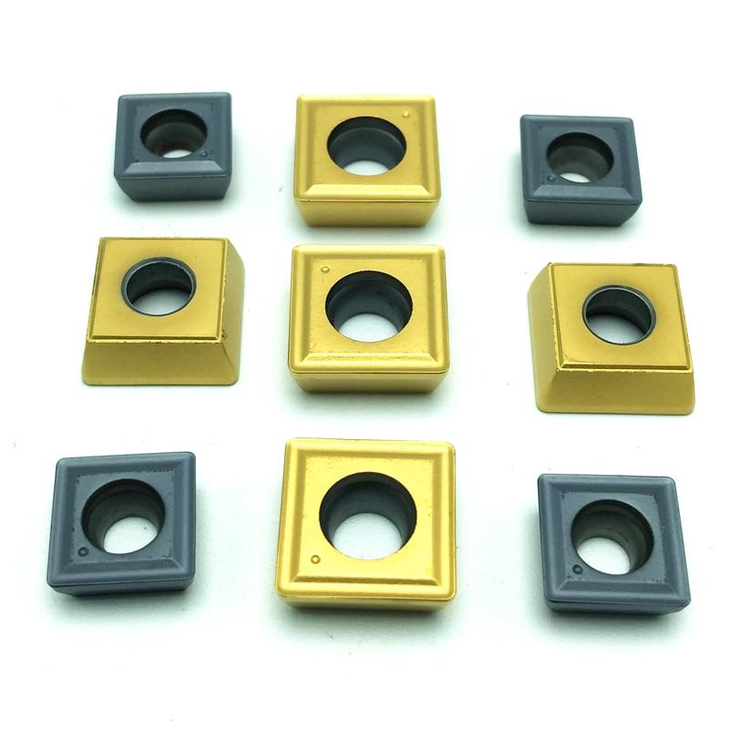 10PCS SPMG050204 DG TT9030 CNC carbide U drill  inserts Internal Turning tool