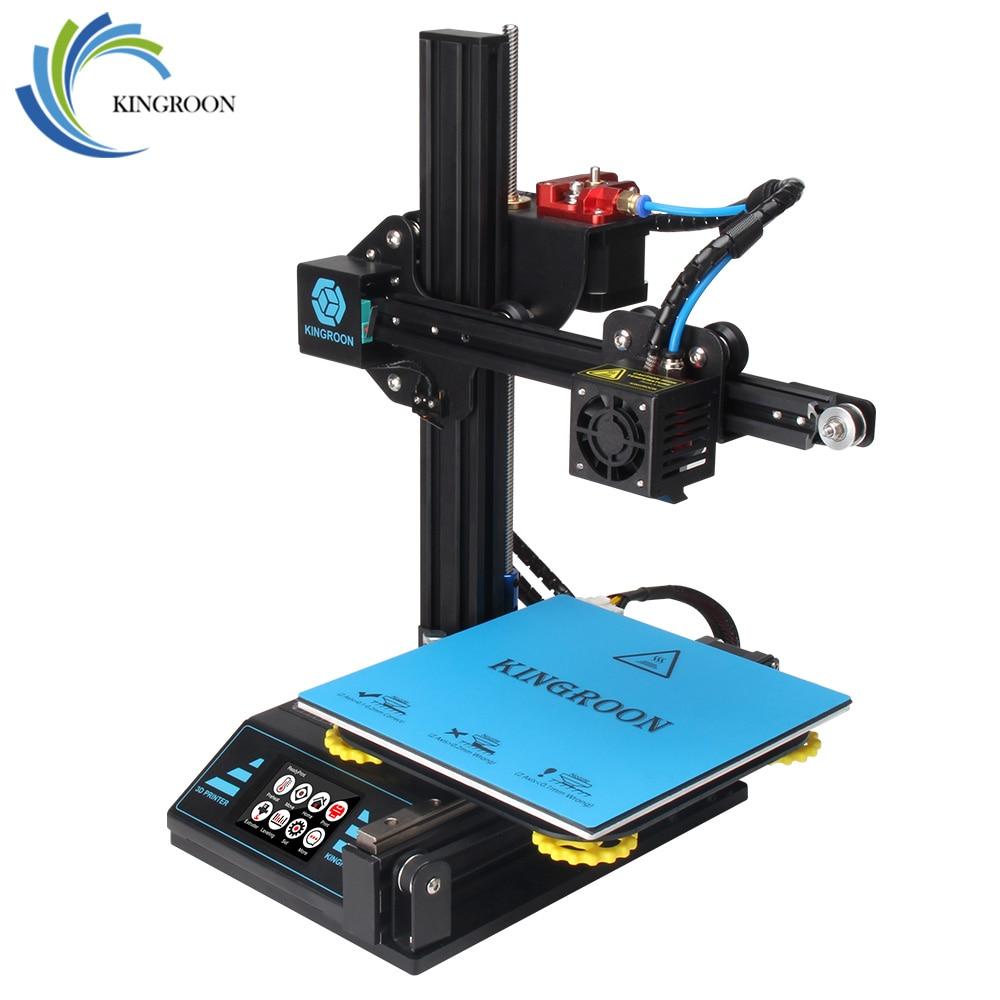 KingRoon BRICOLAGE 3D Imprimante KP3 Amélioré de Haute précision 3D принтер 180*180*180mm Cadre Métallique Rigide Drukarka 3D Tactile Écran LCD Chaude - 2