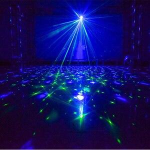 Image 3 - Luz LED de escenario RGB Luz Láser De discoteca, lámpara de bola para discoteca, proyector activado con sonido para salas de baile, bares, Fiestas y Navidad