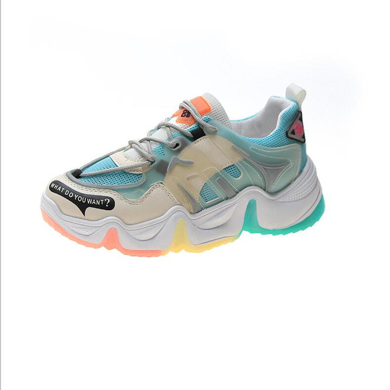 New In 2020 High Quality Cozy Mesh Woman's Motion Casual Fashion Sexy Luxury Sneaker Shoes 9903