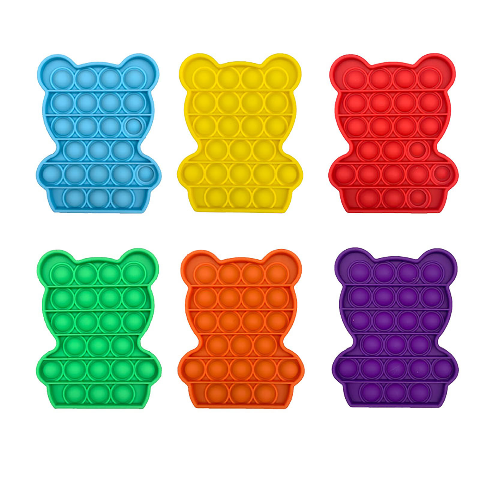 Toys Adult Needs Pops-It-Fidget Anti-Stress Push-Pops Bubble-Sensory-Toy Funny Squishy img5