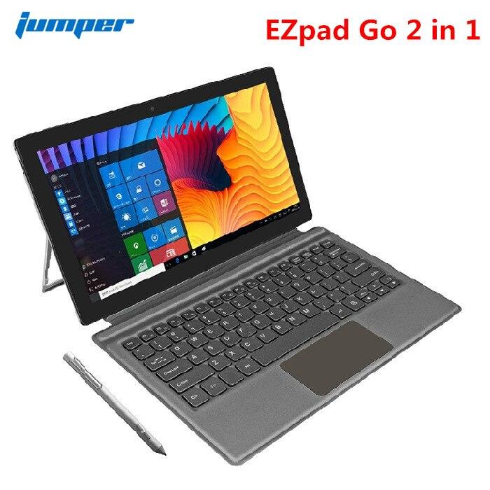 Jumper EZpad Go 2 In 1 Tablet PC 11.6 Inch Windows 10 Apollo Lake N3450 Quad Core 1.1GHz 4GB RAM 128GB With Keypad / Stylus Pen
