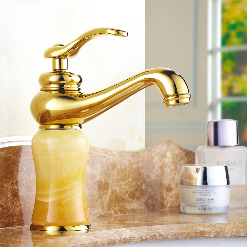 Basin Faucets rose gold deck mounted basin sink mixer taps water griferia bathroom