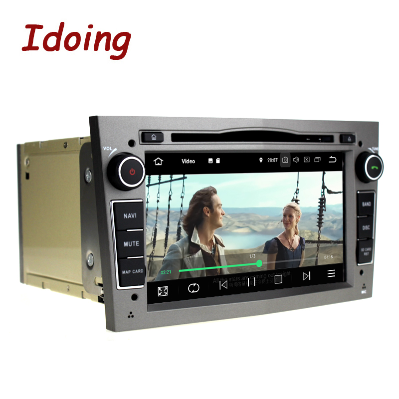 """Image 4 - Idoing 7""""2 din Andriod 9.0 Car Radio DVD Multimedia Player For Opel Vectra Corsa D Astra H PX5 4G+64G 8 Core IPS GPS NavigationCar Multimedia Player   -"""