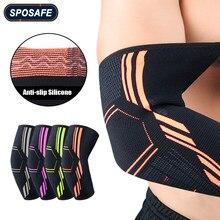 Luva do apoio da compressão da cinta do cotovelo da aptidão 2 pcs/par para o cotovelo do tênis da tendonite, tratamento do cotovelo do golfe e reduz a dor articular