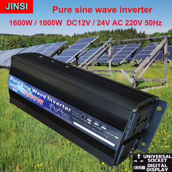 Pure Sine Wave Inverter DC 12V 24V to AC 220V 110V 60Hz 500W 1000W 2000W  Power Converter Booster For Car Household DIY - discount item  17% OFF Electrical Equipment & Supplies