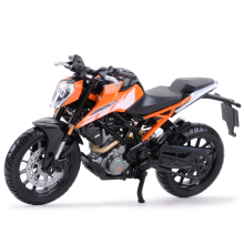 Bburago 1:18 KTM 250 Duke Литой Транспортных средств Коллекционная модель мотоцикла, игрушки