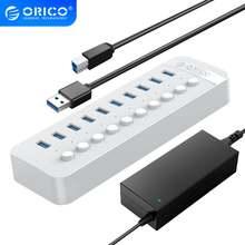 Orico 10 портов power ed usb 30 hub bc12 зарядное устройство