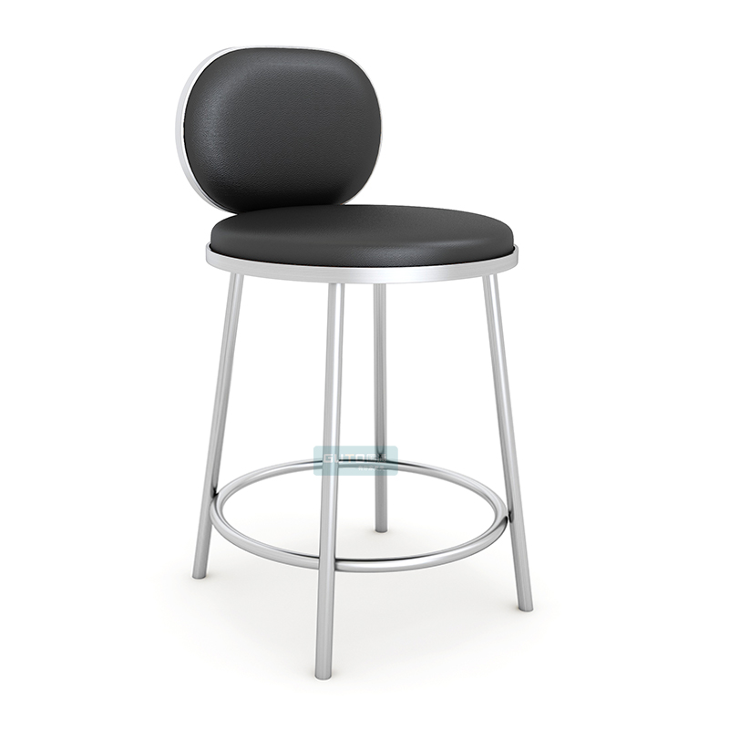 Nordic Bar Chair Modern Simple Jewelry Shop Special Stand Bar Cashier Stand Front Chair Backrest