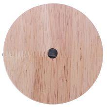 Основание лампы лаконичный стиль Современная Потолочная пластина деревянный Потолочный держатель e27 лампа фитинг патрон для лампы гирлянда 10 10