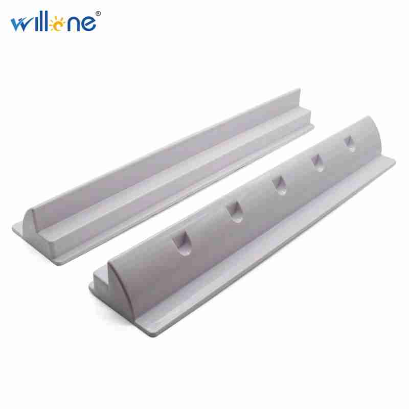 Willone Free Shipping Panel ABS Mounting Bracket 55cm Longer Side Solar Panel Mount Bracket For Caravan Motor Home RV
