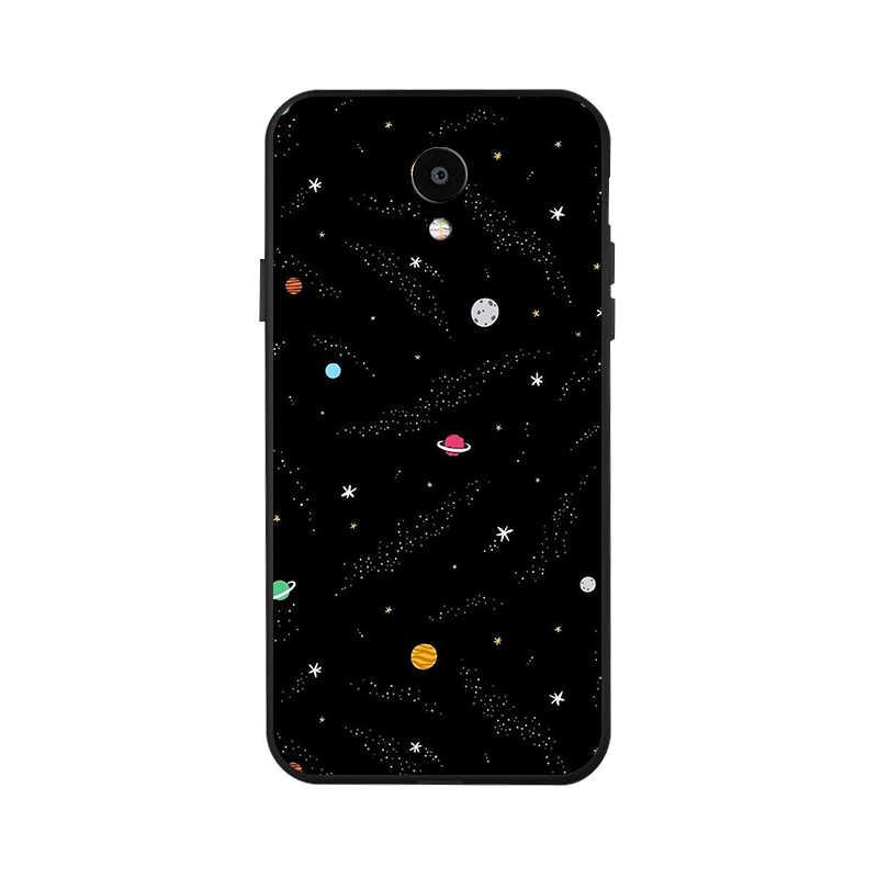 السيليكون حالة ل Meizu M6T حالة الأسود غطاء هاتف بولي يوريثان حراري ناعم ل Meizu M8 لايت V8 برو M6 M5 ملاحظة 9 8 M15 Meilan 5S 6 S6 غطاء
