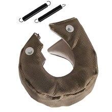 Housse de Protection contre la chaleur | Pour chargeur de voiture T3 Turbo, Protection contre la chaleur, en Fiber de verre, pour T3/25/28 GT25/28/30/32/35/37/26, accessoires de voiture