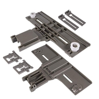 W10350376 and W10195840 and W10195839 Dishwasher Top Rack Adjuster Dishwasher Positioner for Whirlpool Kenmore (Pack Of 2)