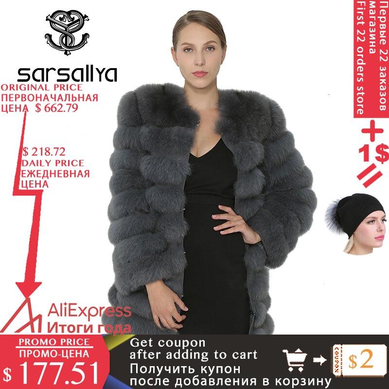 Réel manteau de fourrure de renard femmes naturel réel vestes de fourrure Parka gilet hiver vison manteau renard fourrure vêtements d'extérieur femmes femme vêtements