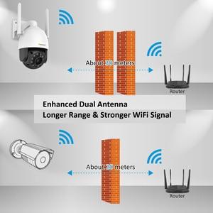 Image 3 - Einnov Wifi IP Camera Wireless Security Camera Outdoor 1080P HD Surveillance Camara Audio Onvif 2MP IR Night Vision P2P Camhi SD