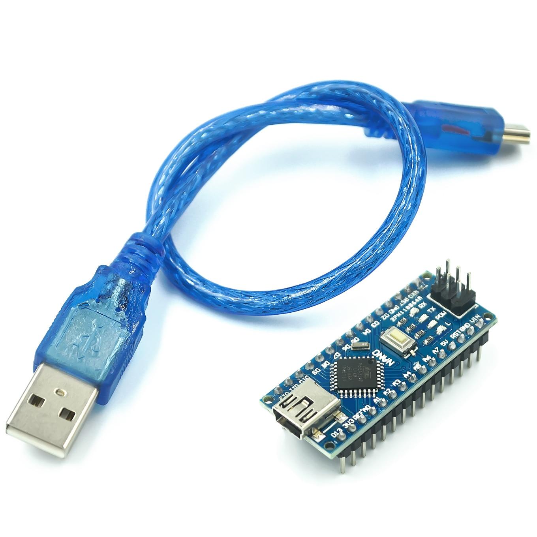 Мини USB нано-V3.0 ATmega328P CH340G 5V 16M микро-контроллер доска для arduino Nano 328P NANO 3,0