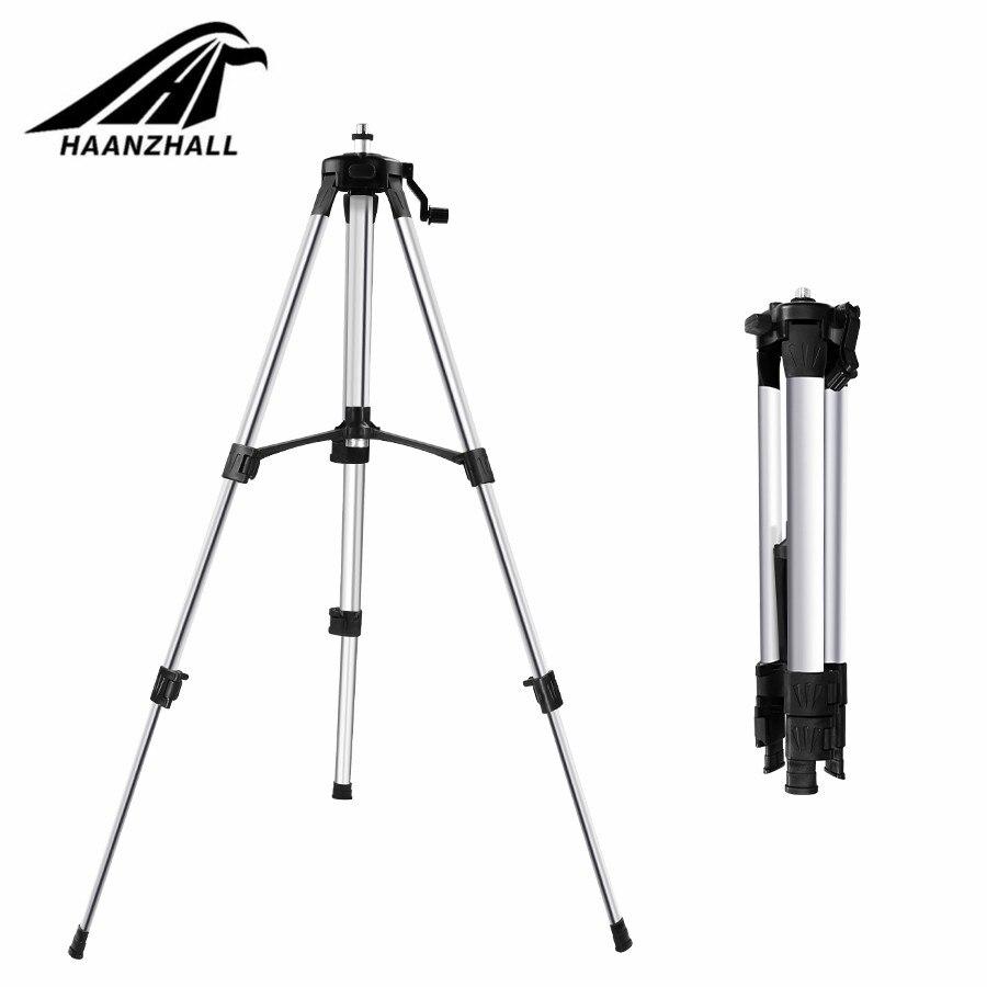 HAANZHALL штатив с лазерным уровнем регулируемая высота утолщенный алюминиевый штатив подставка для самонивелирующегося 1/1. 5 м