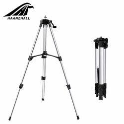 HAANZHALL statyw z poziomicami laserowymi regulowana wysokość zagęścić statyw aluminiowy stojak na samopoziomujący 1/1. 5m