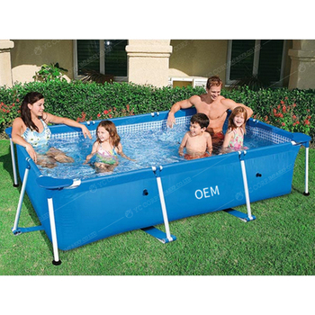 Inflatable Square/Round Swimming Pools for adult Folding Outdoor Portable Paddling Pool Large Size Family Pools dark pools