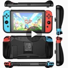 Para Nintendo interruptor alegría Con cubierta de alegría-con la piel Nintedo interruptor Shell accesorios de juego de vivienda Joystick Gamepad Control