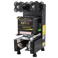 Plastik/Kağıt Standı Kupası Hızlı Elektrik Yapıştırma Makinesi Kabarcık Çay Kahve Tek Fincan Mühürleyen otomatik mühürleme makinesi 360 W RC-995