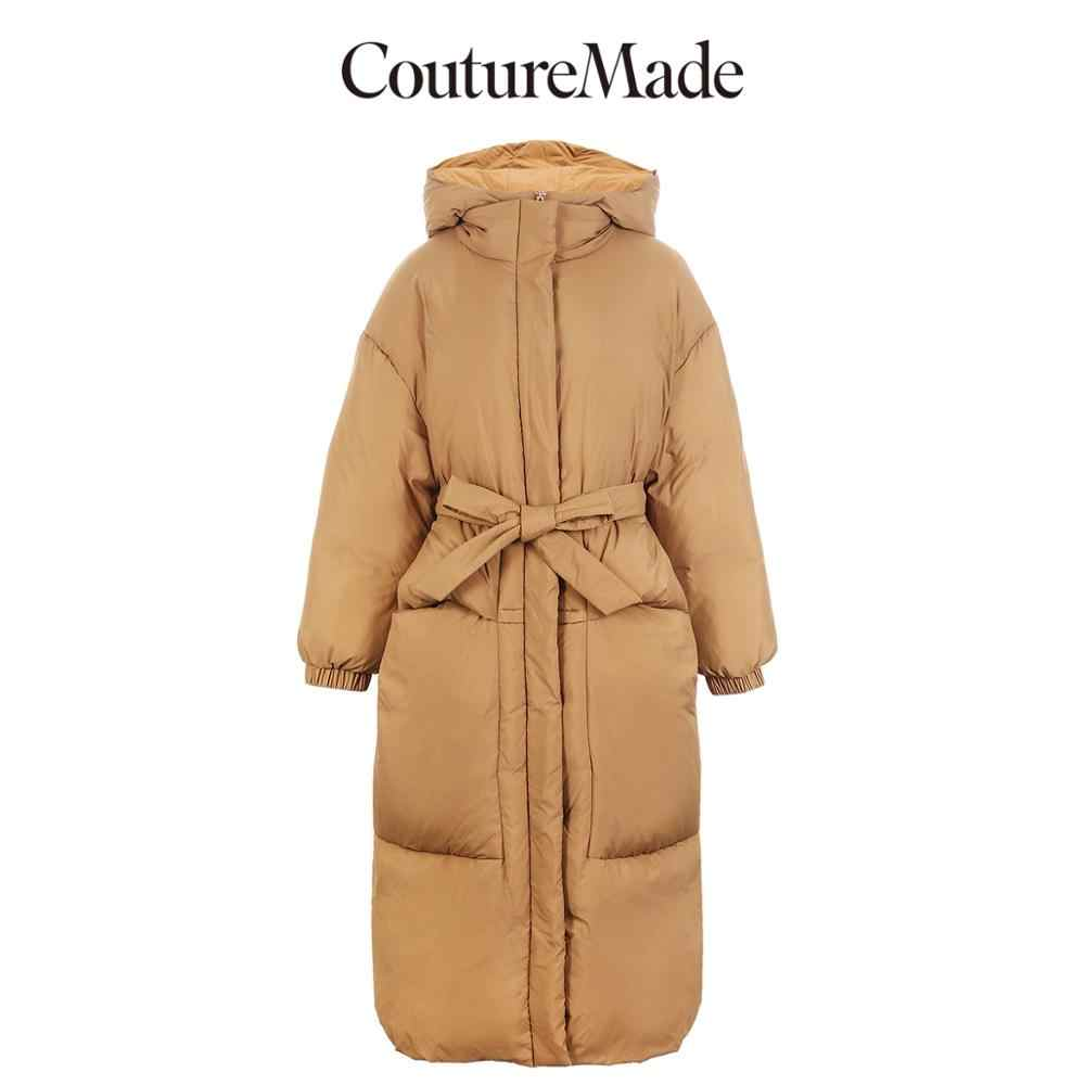 Vero Moda ผู้หญิงใหม่ Hooded ยาวสีขาวห่านลง Parka Coat | 318412561