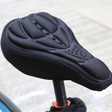 Bike Seat 3D Bicycle Saddle Cover Soft Comfortable Foam Seat Cushion Cycling Saddle Cover for MTB Road Bike Bicycle Accessories coolchange cycling bicycle seat cover with breathable liquid silicone gel mtb road mountain bike saddle cover hollow cushion